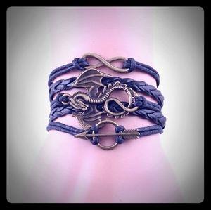 💜 5 for $20. Infinity Game of Thrones Bracelet